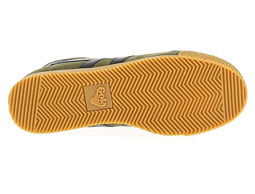 Harrier Suede Uomo Sneakers Gola Khaki agdqax