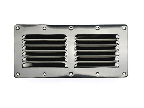 9 in louvered vent - 8