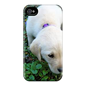 Favorcase Shockproof Scratcheproof Flower Puppy Hard Cases Covers For Iphone 6