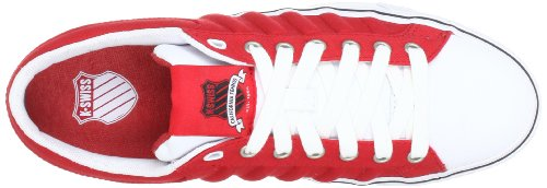 K-swiss Herenmode Sneakers Adcourt Cvs Lage Sneakers Rood - Rot (rood / Wit / Zwart)