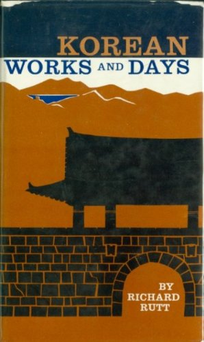 Korean Works and Days Notes from the Diary of a Country Priest