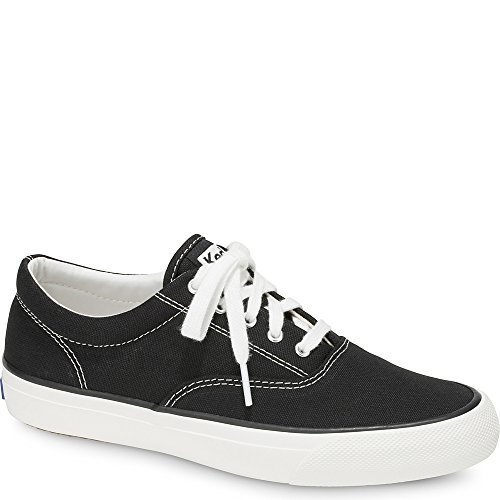 Keds Women's Anchor Sneaker, Black, 7.5 M ()