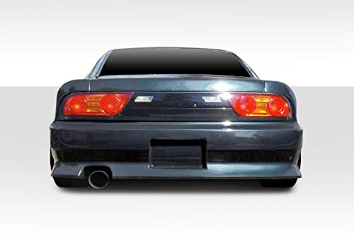 Duraflex Replacement for 1989-1994 Nissan 240Sx S13 HB V-Speed Wide Body Rear Bumper Cover - 1 Piece