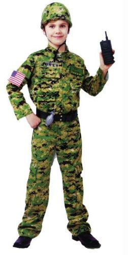 Morris Costumes Generic Army Inftry Costume Large - Occupation Costumes Ideas
