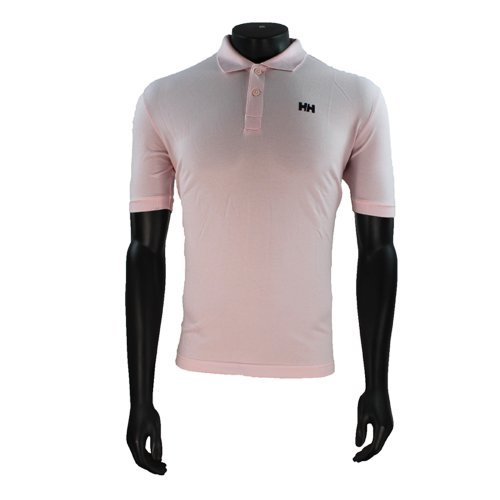 Herren Helly Hansen Pink Polohemd