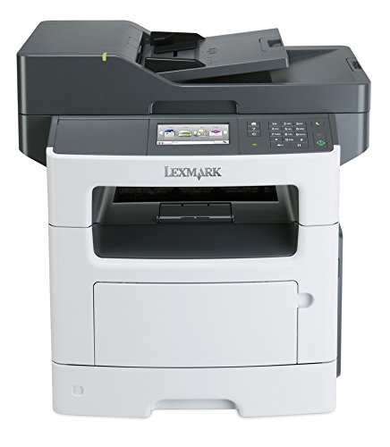 Lexmark MX517de Monochrome All In One Laser Printer with Scan Copy Network Ready Duplex Printing and Professional Features