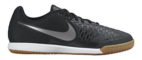 Nike Magistax Pro IC Botas de fútbol, Hombre Negro / Dorado / Blanco (Black / Mtlc Pwtr-White-Grn Glw)