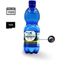 Hidden Camera Full HD Security Camera Spy Camera Motion Detection Camera Water Bottle 1080p@30fps with 16G Memory Card