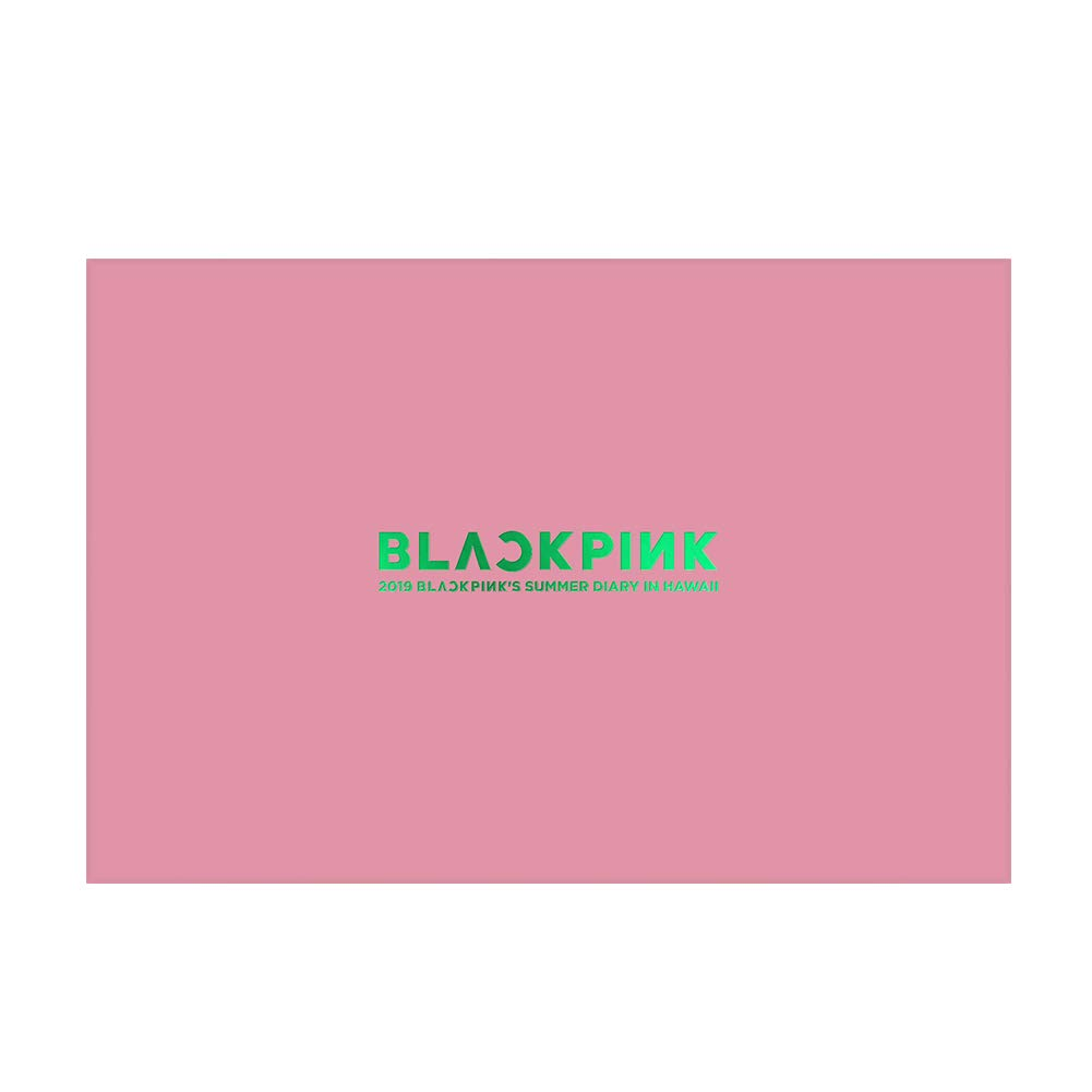 YG Entertainment Idol Goods Fan Products YG Select Official 2019 BLACKPINK'S Summer Diary [in Hawaii]