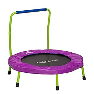 Amazon Com Portable Amp Foldable Trampoline For Kids And