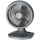 Holmes Three-Speed Oscillating Desk Fan Charcoal Dimensions: 10.5W x 10.188D x 14.25H Weight: 5 lbs.