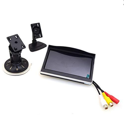 CoCar 5 inch auto zuignap houder monitor LCD TFT scherm voorruit houder voor achteruitrijcamera/frontcamera/mediaspeler…