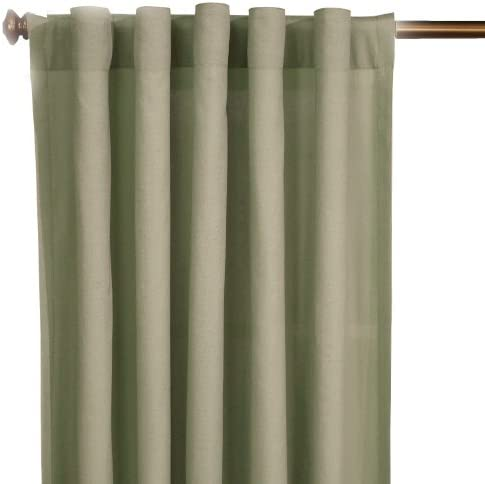 SureFit Duck Solid – Curtain Slipcover – Sage