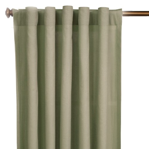 SureFit Duck Solid - Curtain Slipcover  - Sage (SF36601)