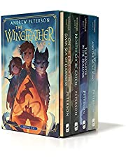Wingfeather Saga Boxed Set: On the Edge of the Dark Sea of Darkness; North! Or Be Eaten; The Monster in the Hollows; The Warden and the Wolf King (The Wingfeather Saga)