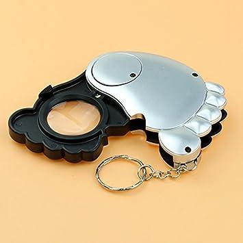 Amazon.com: windvape® 10 x Lupa de bolsillo plegable llavero ...