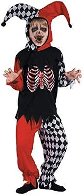 Generique - Disfraz de arlequín Sangriento niño 7-9 años (122/134 ...
