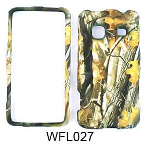 Camo Hunter Big Branch Camouflage Snap on Cover Faceplate for Samsung Prevail M820 by runtopwell