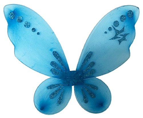 - Sparkle Athletic Fairy Princess Pixie Wings (Turquoise)