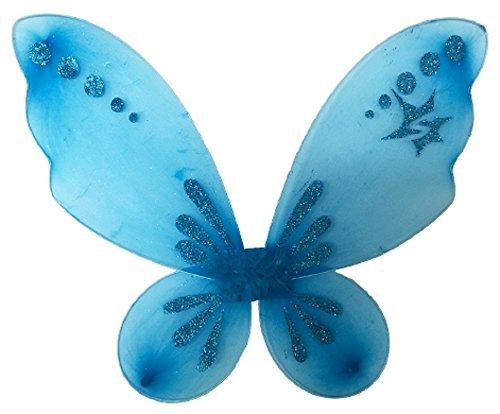 Blue Pixie Costume (Fairy Princess Pixie Wings (Turquoise))