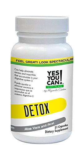 Yes You Can! Diet Plan Detox, 21 Tablets