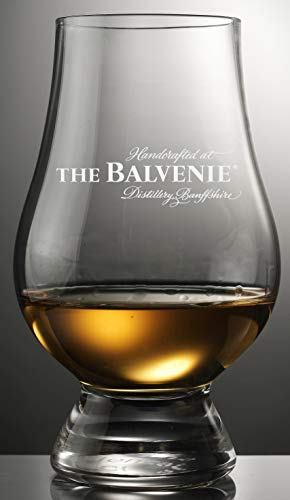 Balvenie Distillery Logo Glencairn Tasting and Nosing Glass