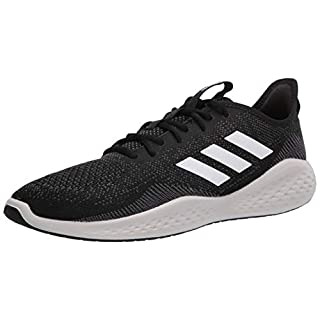 adidas Men's Fluidflow Running Shoe, core Black/FTWR White/Grey Six, 14 M US