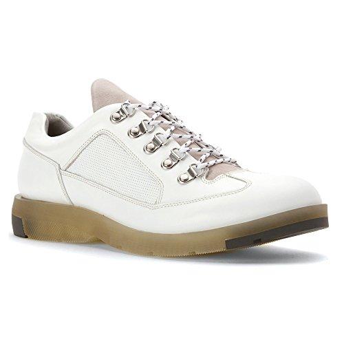 Anthony Miles Mens Mapleton Sätt Mode Sneakers Vita
