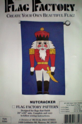 Create Your Own Beautiful Flag -- Craft Pattern -- (Nutcracker Factory)