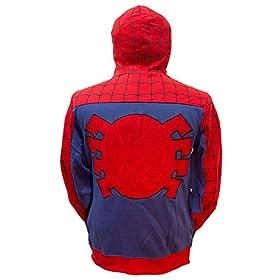 - 41x5y HHt L - Marvel Spider-Man Cosplay Full Zip Hoodie