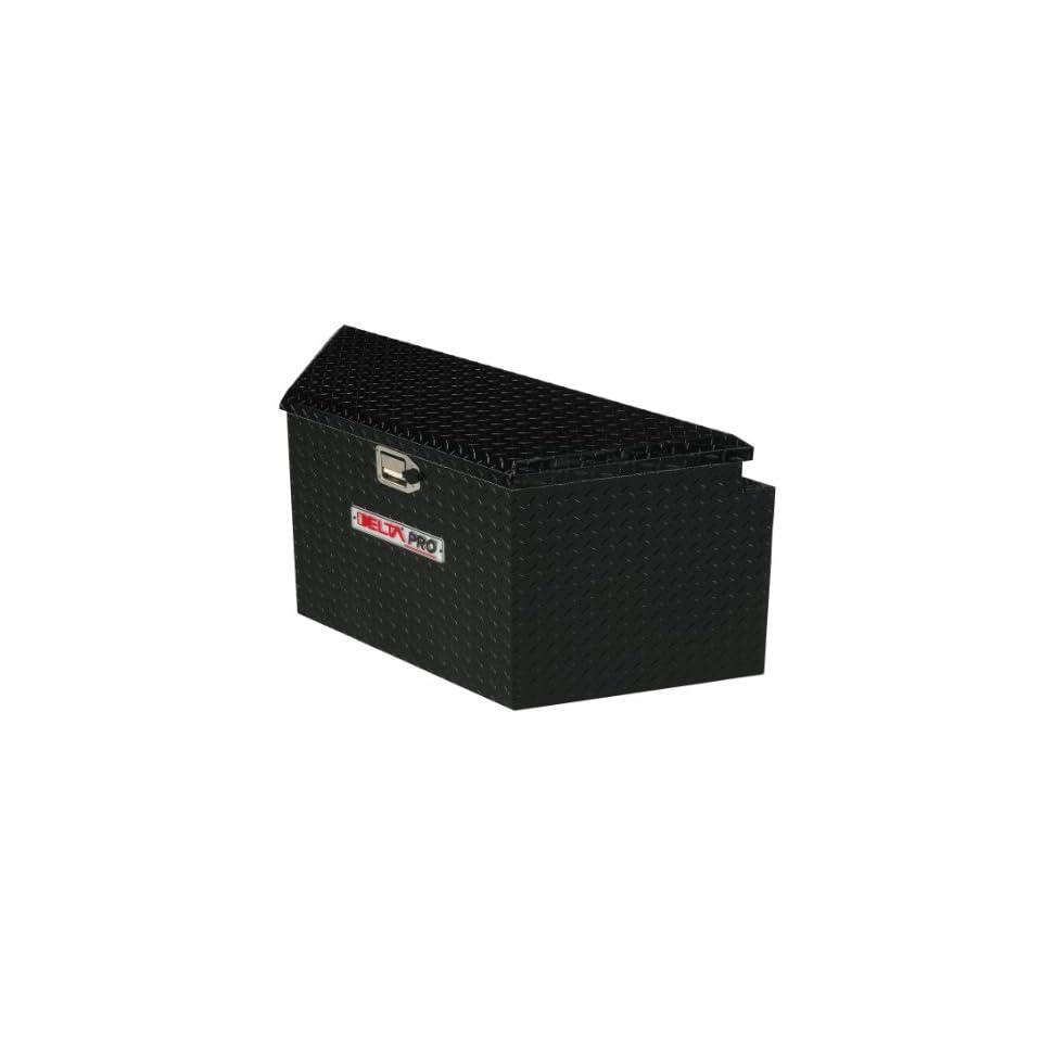 Delta Pro 415002 Black 33 Long Aluminum Trailer Tongue Truck Box