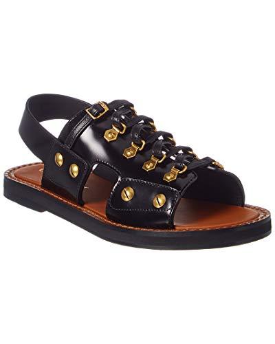 - Dior Womens Black Leather Wildior Slip On Flat Sandals Size IT36/US6~RTL$1260