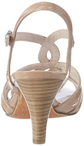 Marco Tozzi 28321, Sandalias de Tacón Mujer Rosa (Candy Patent 538)