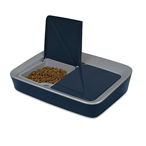 Dry Food Feeder (PetSafe 2-Meal Automatic Dog and Cat Feeder, Dispenses Dog Food or Cat Food)
