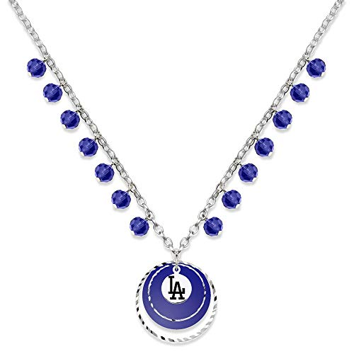 2001 Dodgers Game - MLB Los Angeles Dodgers LOS ANGELES DODGERS GAME DAY NECKLACE Size One Size