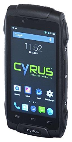 Cyrus CYR10046 Outdoor Smartphone CS30 (4G, Dual Sim, Stoßsicher, staubgeschützt, wasserfest)