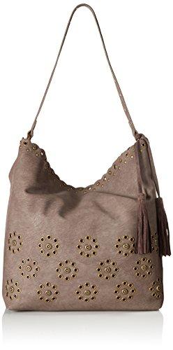 STEVEN by Steve Madden Zen Shoulder Handbag,Slate