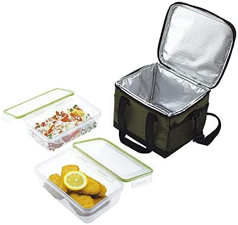 Jata Hogar Take Away Bolsa térmica Porta Alimentos, Verde Oscuro ...
