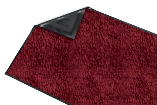 Guardian Platinum Series Indoor Wiper Floor Mat, Rubber with Nylon Carpet, 6'x8', Burgundy by Guardian (Image #3)
