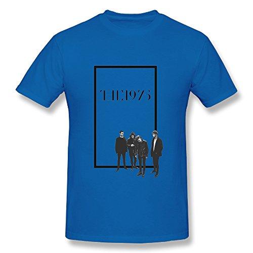 Best RoyalBlue T Shirt For Men Alternative Rock Band The 1975 Tour 2016