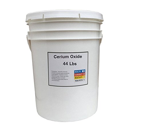 Cerium Oxide High Grade Polishing Powder - 44 Lbs Bucket by Gordon Glass Co.