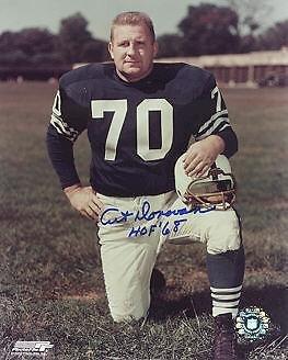 Autographed Art Donovan Photo - HOF 68 DECEASED 8x10 - Autographed NFL Photos