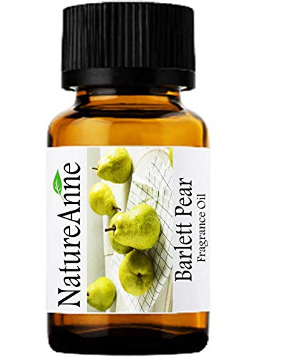 Bartlett Pear Premium Grade Fragrance Oil - 10ml - Scented Oil - for Diffuser Oils, Making Soap, Candles, Lotion, Home Scents, Linen Spray, Lotion, Perfume, Beard ()