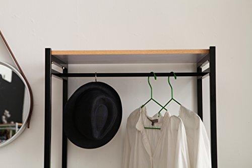 Schuhregal garderobe stahlrohr mbel schuhbank industrial chic