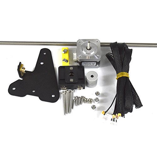 Comgrow Creality CR-10 Dual Z Axis Leading Screw Rod Upgrade Kit by Comgrow