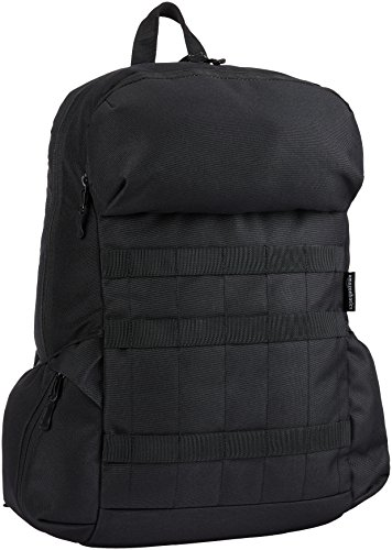 AmazonBasics Canvas Backpack for Laptops up to 15-Inches - Black