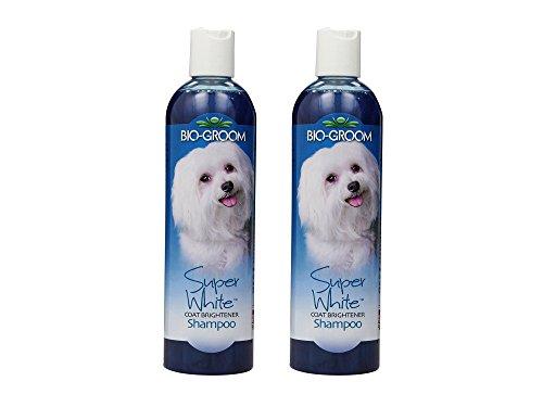 t of 2 Bio-Groom 12 oz. Super White Pet Shampoo bundled by Maven Gifts (Super White Tearless Shampoo)