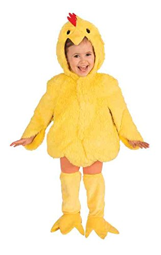 Forum Novelties Plush Cuddlee Lovable Chicken Costume, Child Small