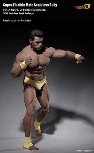 41x60rrqhHL - Phicen 1/6 Scale Super Flexible Male Muscular Seamless Body PL2016-M34