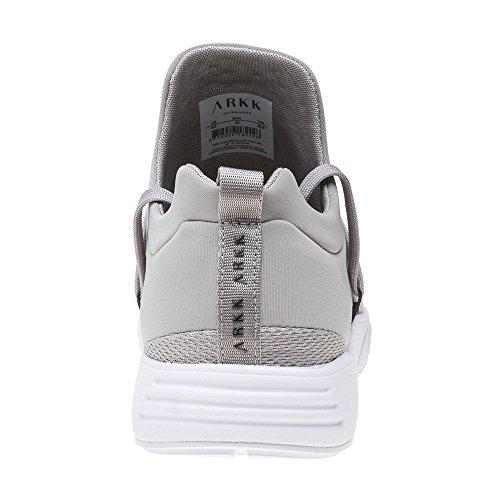 S Grey Tessuto Uomo Mesh E15 Grigio ARKK Tecnico Sneakers Raven twRzqtMv